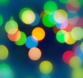 Color bokeh Stock Image