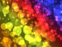 Color bokeh abstract  background Royalty Free Stock Images