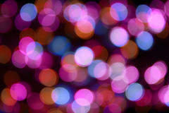 Color Bokeh background Royalty Free Stock Photo