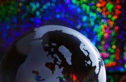 Color Bokeh del globo fotografía de archivo
