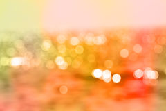 Color Bokeh for use at graphic design Royalty Free Stock Images