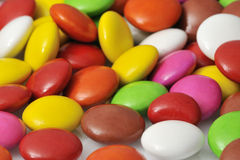 Color bonbons. On white background Royalty Free Stock Photography