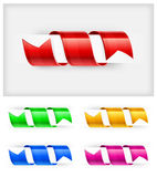 Color bookmark Royalty Free Stock Photo
