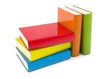 Color books vector illustration