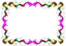 Color border Royalty Free Stock Photography