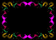 Color border. A colorful border. Adobe illustrator file is available Stock Photos