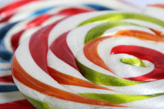 Color Border of lollipop Stock Images
