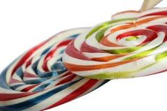 Color Border of lollipop Stock Photos