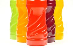 Color of bottle Stock Photography