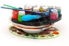 Color bottle case Stock Photo