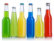Color bottle isolated Royalty Free Stock Photos