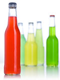 Color bottle isolated Stock Image