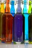 Color Bottles Stock Image