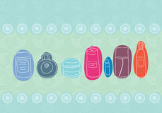 Color bottles Royalty Free Stock Photo