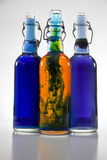 Color Bottles Royalty Free Stock Image