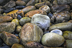 Color boulders Royalty Free Stock Images
