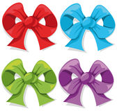 Color bow Royalty Free Stock Photography