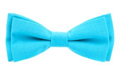 Color bow tie isolated. On white background Royalty Free Stock Photography