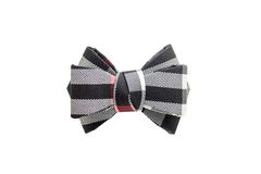 Color bow tie isolated on white background.  Stock Photos