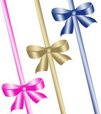 Color bows Royalty Free Stock Images