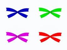 Color bows Royalty Free Stock Photos