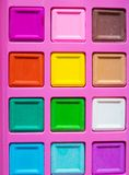 color boxes background Stock Photo