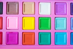 color boxes background Royalty Free Stock Photo