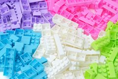 Color brick Royalty Free Stock Images