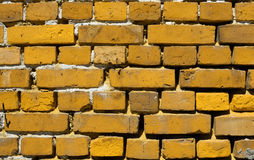 Color brick wall Stock Photo