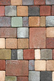 Color bricks Royalty Free Stock Images