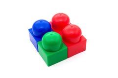 Color bricks Royalty Free Stock Photography