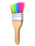 Color brush tool isolated Stock Image