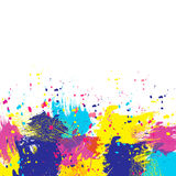 Color-brush. Vector watercolor background. Colorful abstract texture. Vector pop-art background. Vector watercolor splash Stock Illustration
