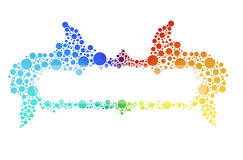 Color bubbles Royalty Free Stock Photography