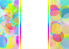 Color Bubbles Background Royalty Free Stock Images