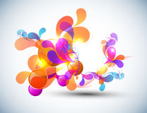 Color Bubbles Banner Design Royalty Free Stock Photography