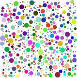 Color Bubbles Vector Royalty Free Stock Photos