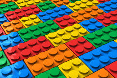 Color building blocks Stock Photos