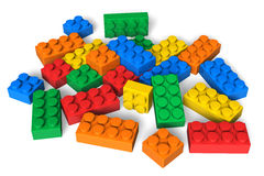 Color building blocks Royalty Free Stock Photos