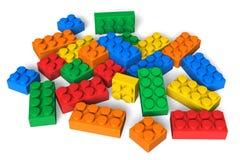 Color building blocks Royalty Free Stock Photos