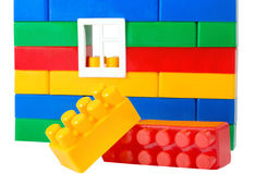 Color building blocks Royalty Free Stock Photo
