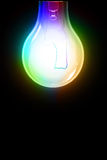 Color bulb Stock Photography