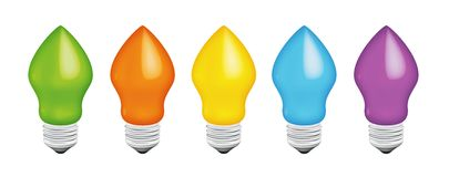 Color Bulb Stock Images