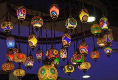 Color bulb ligh Royalty Free Stock Photo