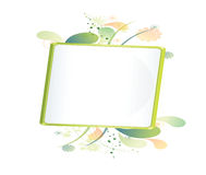Color bulletin board Royalty Free Stock Image