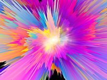 Color Burst Royalty Free Stock Photos