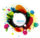 Color Burst Background Stock Photography