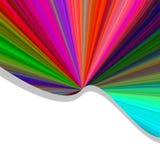 Color Burst Background Stock Photo