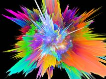 Color Burst Royalty Free Stock Images