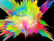 Color Burst Stock Image